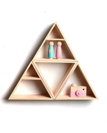 Triangle wall decor Design