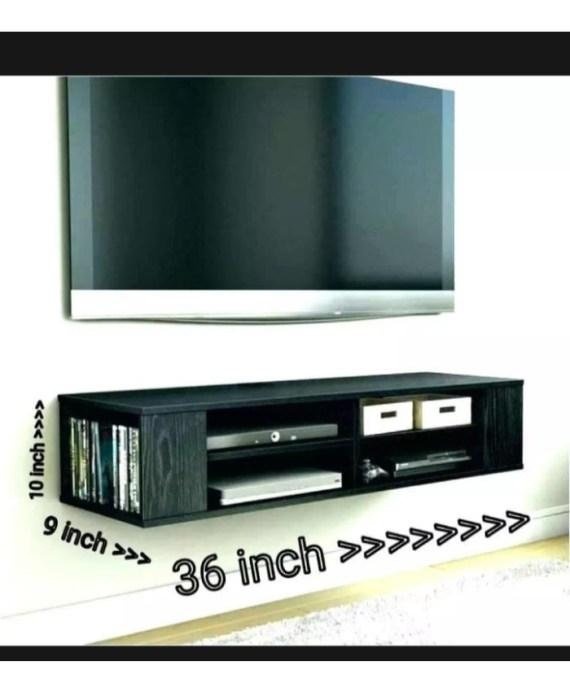 tv unit console wood