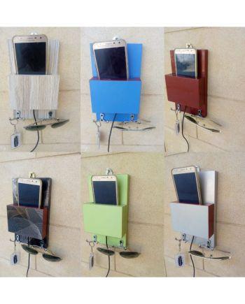 Mobile charging plus key rack