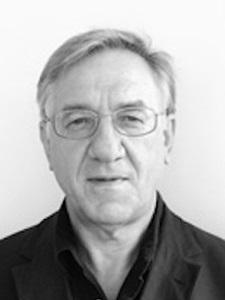 Porträt des Kunsthistorikers Karl Schawelka