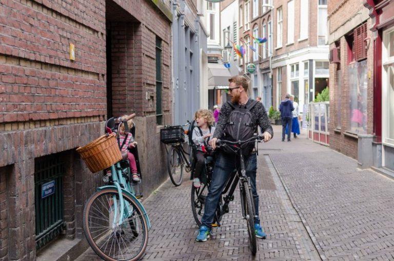 La Haya en bici