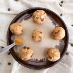 energy balls de cacahuete y chocolate