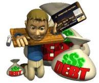 tarjeta de credito excedida
