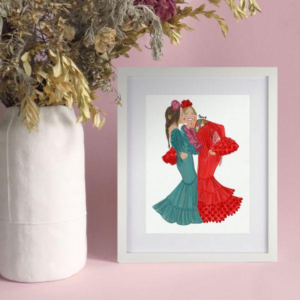 lamina flamencas