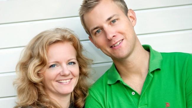 Radiofronts Siss Vik og Thomas Alkärr (Foto: NRK)