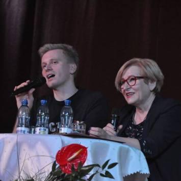 Marta Fox i Artur Gotz w Żorach