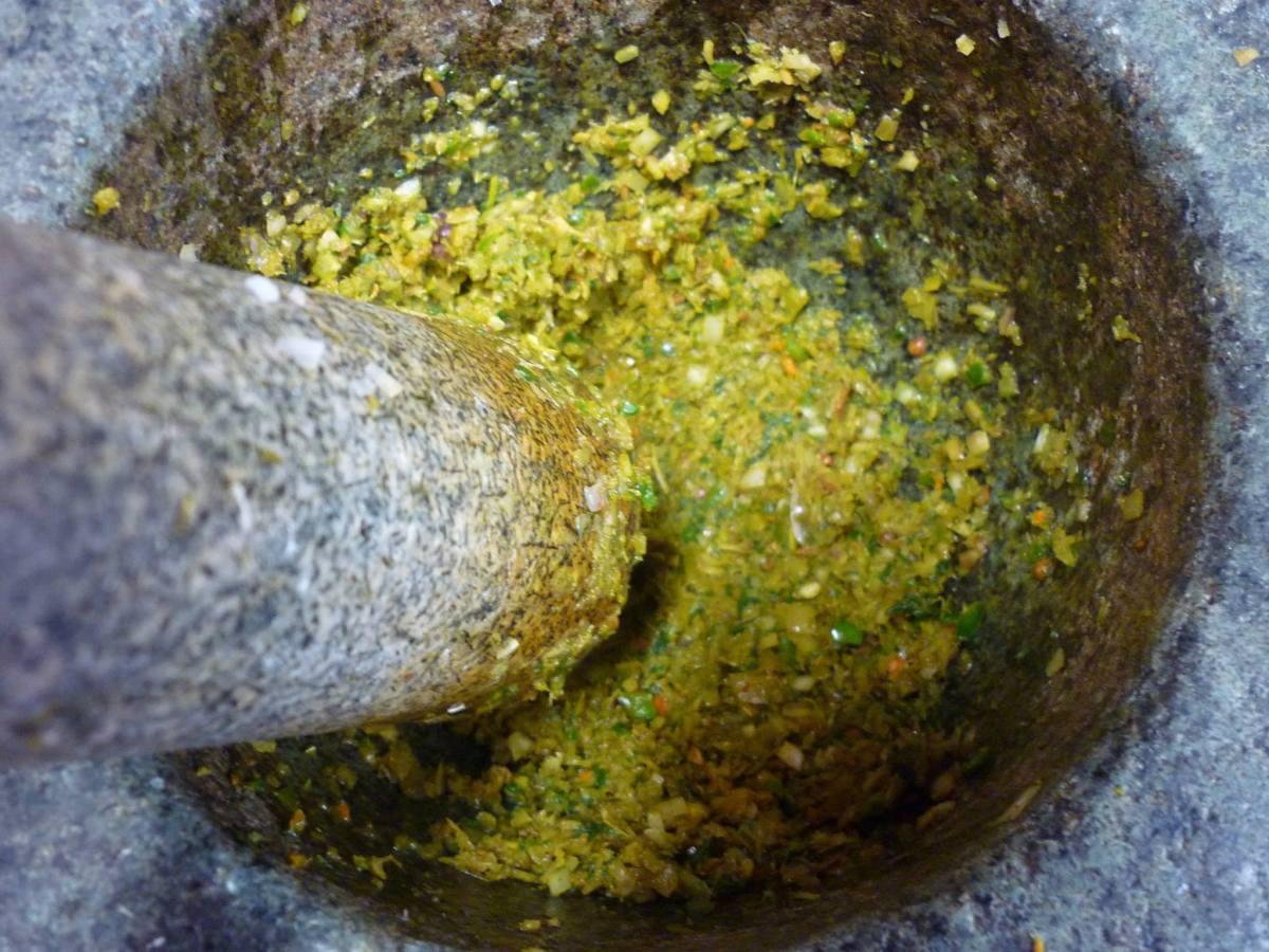Pasta para curry verde / M. H.