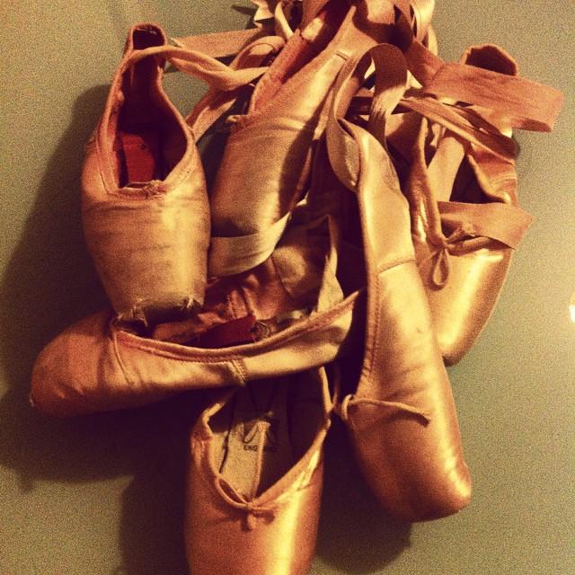 Mis puntas de ballet /M. H.