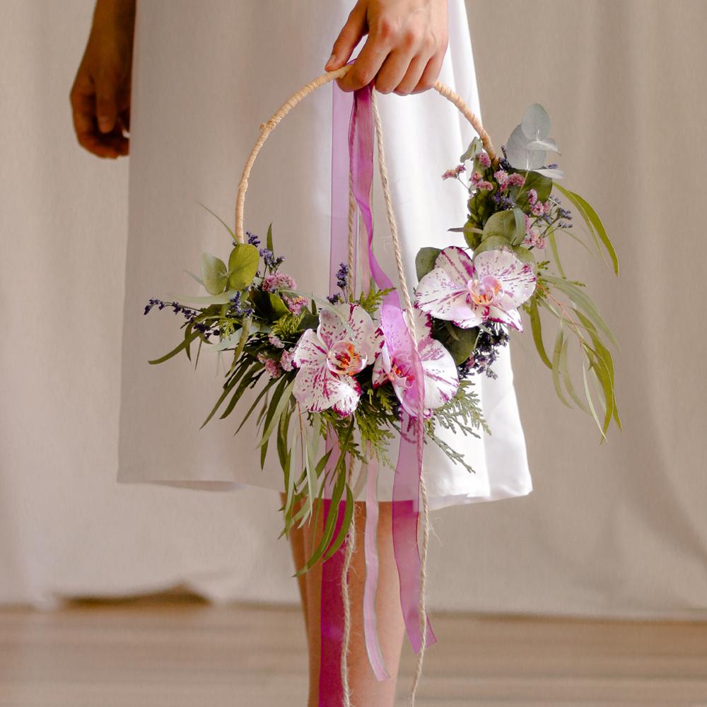 ramo novia MartaMajo Flors orquidia