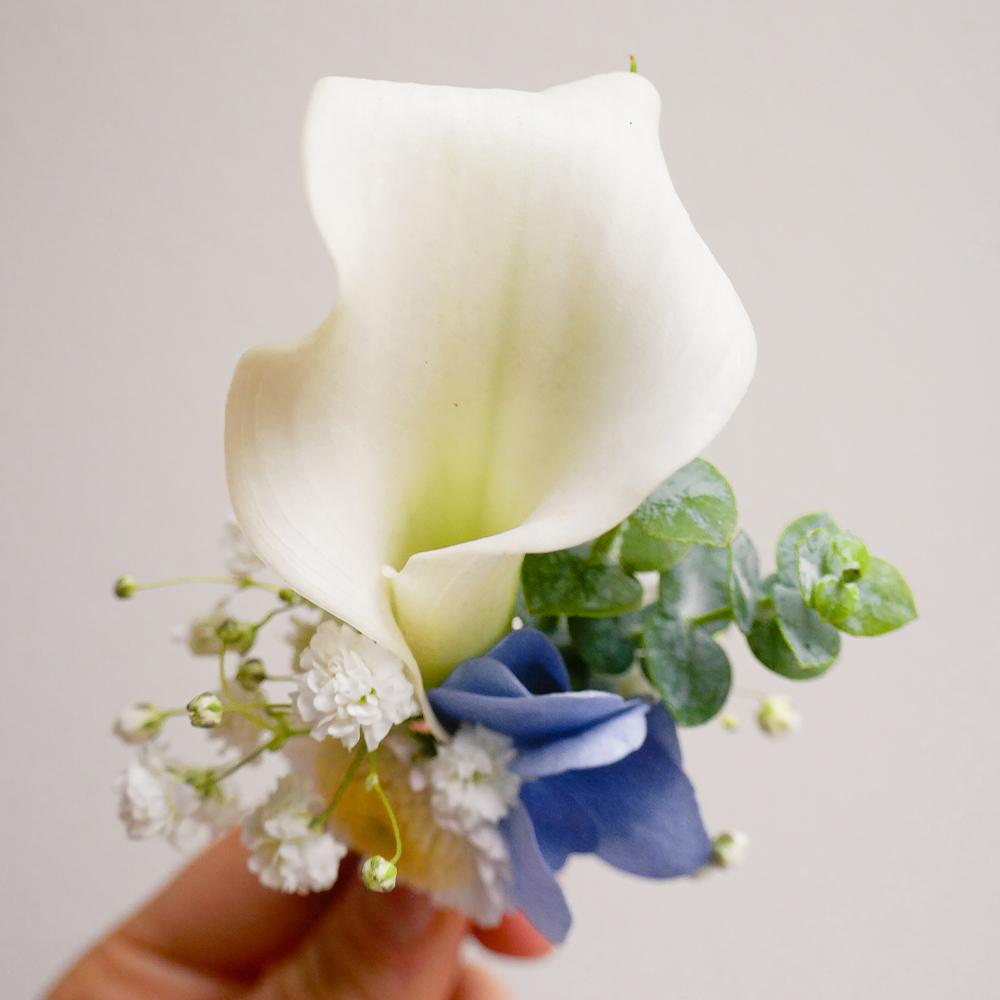solapa cala complemento floral MartaMajo Flors