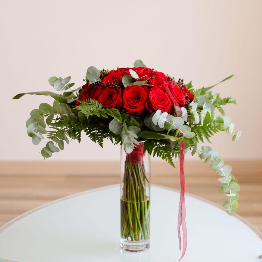 RAMO ROSAS ROJARMartaMajo Flors