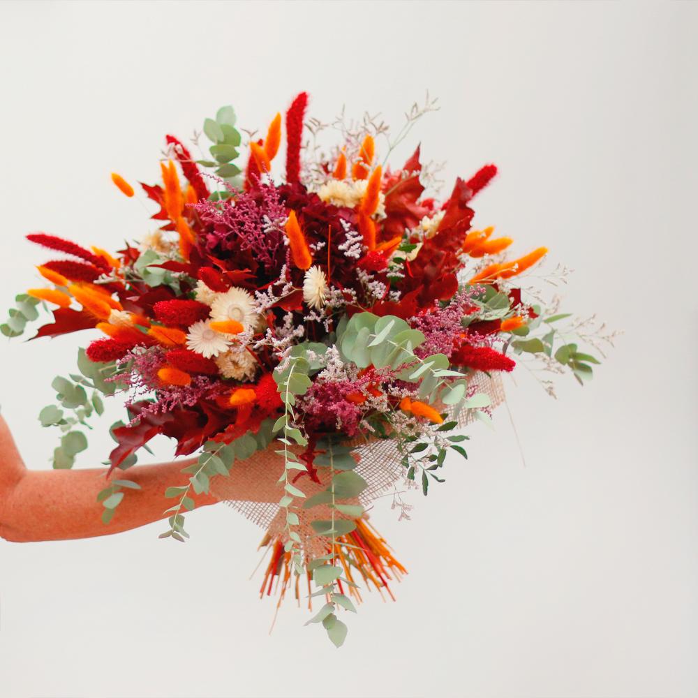 ramo flor liofilizada martamajo flors bouquet floristería color