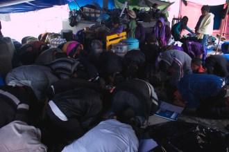 Ayuno y oración de los desplazados de la Colonia Puebla y por la libertad de Alberto Patishtan