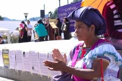Campaña contra la violencia y los feminicidios en Chiapas