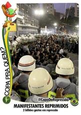 #Copadarepressão #Copapraquem?