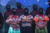 Más de 2.300 bases de apoyo zapatistas llegaron al Homenaje que prepararon en La Realidad para Galeano. Muchas de ellas procedentes de los otros 4 caracoles (La Garrucha, Roberto Barrios, Morelia y Oventic)