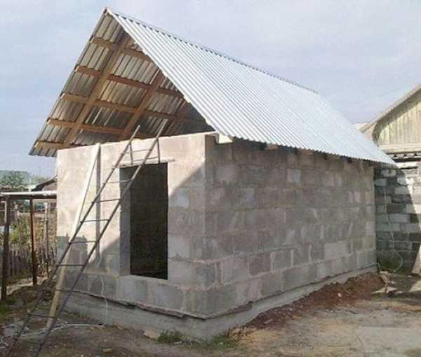 Баня из пеноблоков своими руками проекты – как построить ...