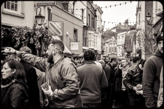 2016 Jack in the Green Drinking Down George Street small