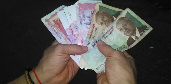 Валюта Камбоджи - риель