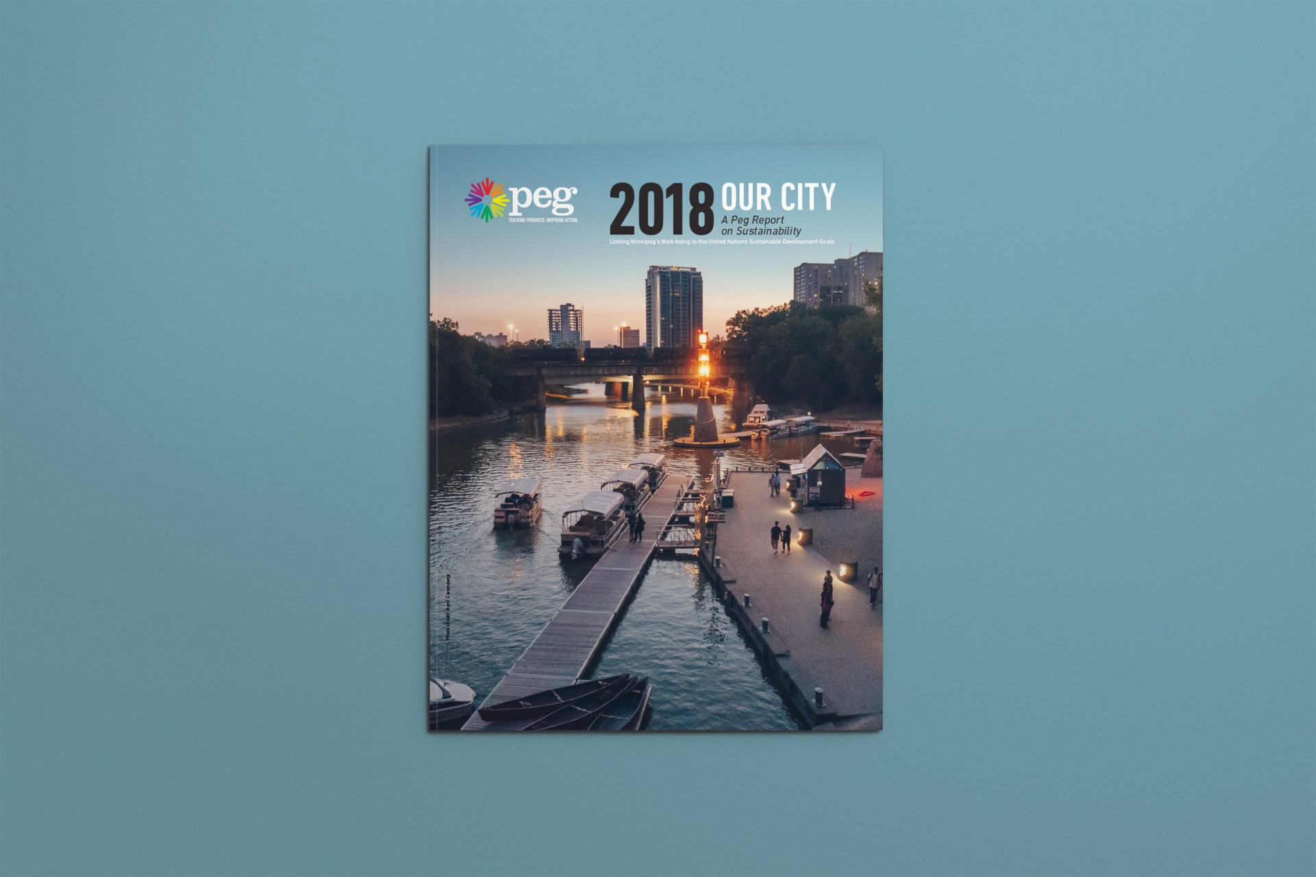 United Way PEG report, Front Cover, from 2018