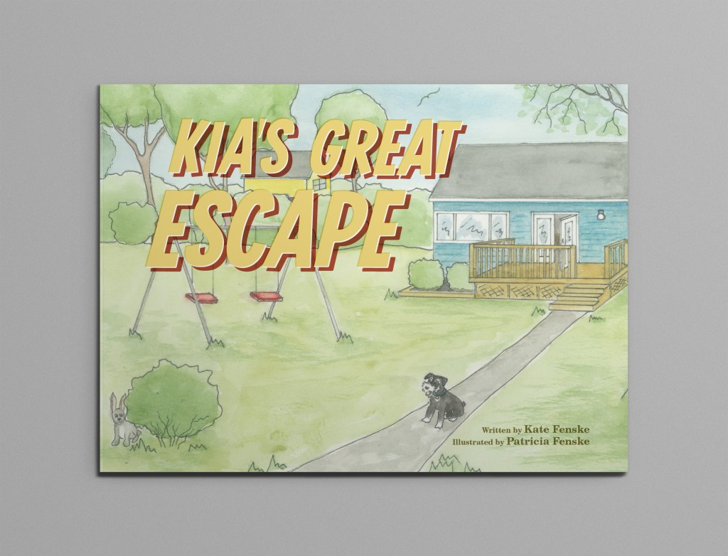 "Front cover of the book ""Kia's Great Escape"""