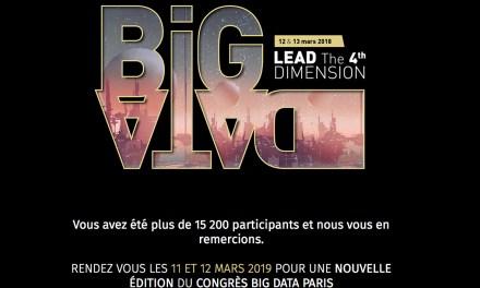 Découvrez comment prendre soin de vos données au BIG DATA PARIS