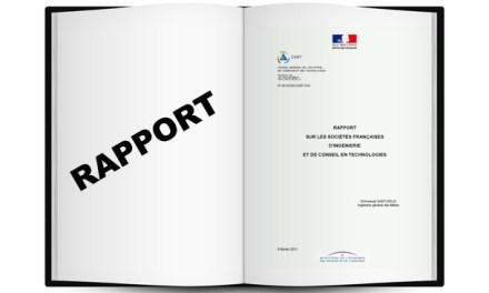 Rapport sur les sociétés françaises d'ingénierie et de conseil en technologie