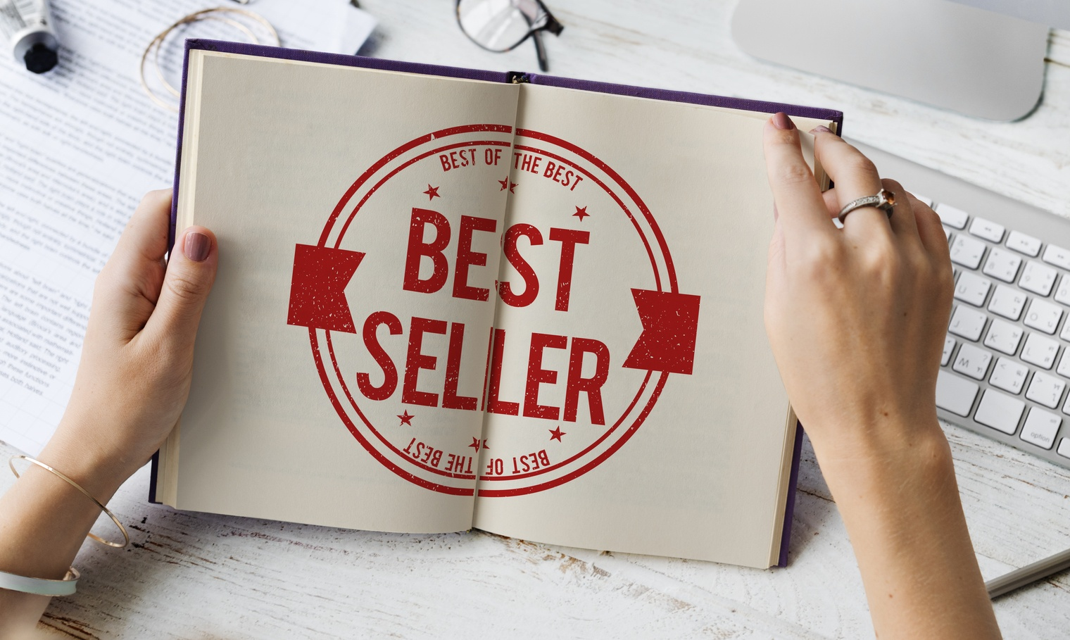 A Writer? 7 Potent Ways to Make Your Book an International Bestseller