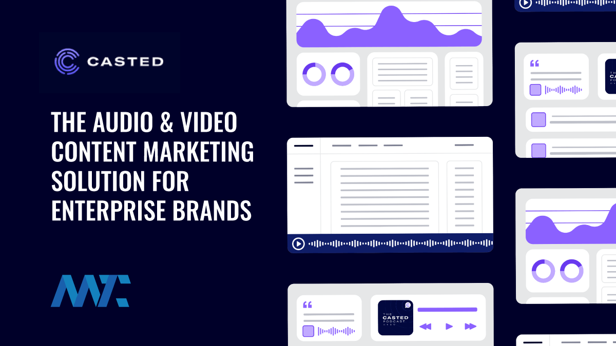 Casted: The Audio Content Marketing Solution for Enterprise Brands