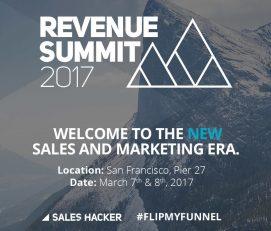 Revenue Summit 2017, San Francisco, March 7-8
