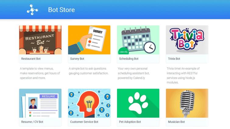 Bot Store, Motion AI, first bot marketplace