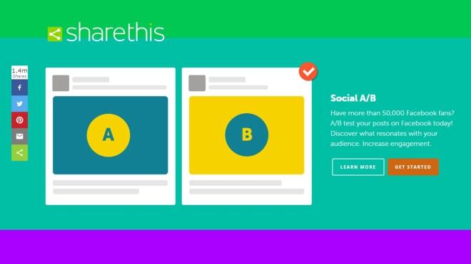 ShareThis Social A/B
