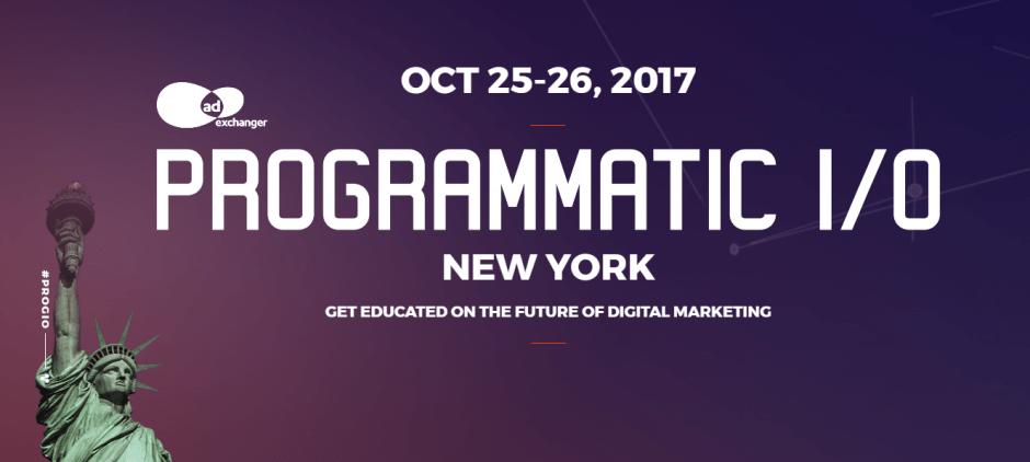Artificial Intelligence and B2B Marketing Kick-Off Largest PROGRAMMATIC I/O NY Ever