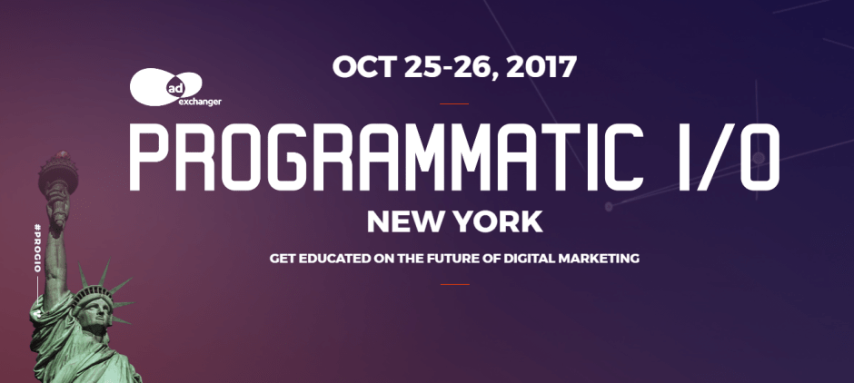 Artificial Intelligence and B2B Marketing Kick-Off Largest PROGRAMMATIC I/O NY Ever