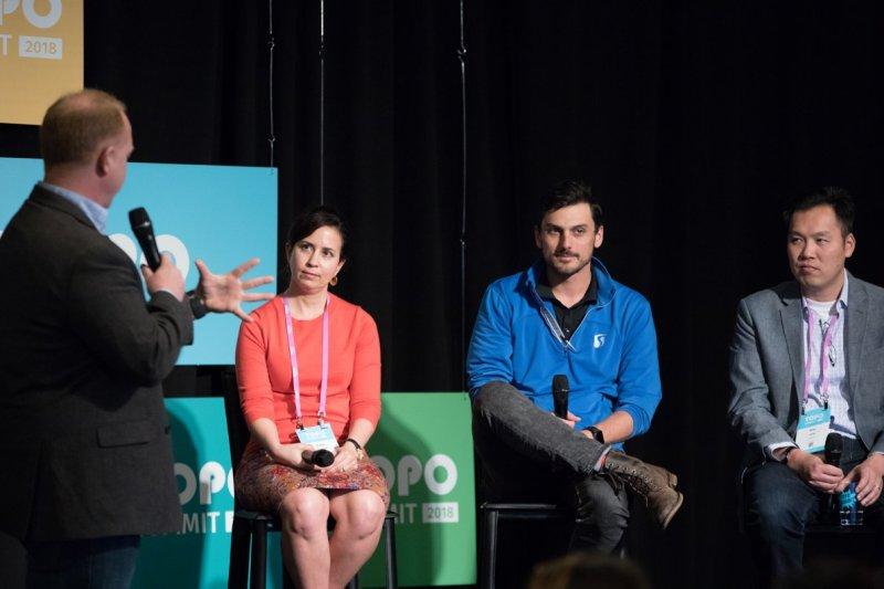 I at the TOPO Summit 2018