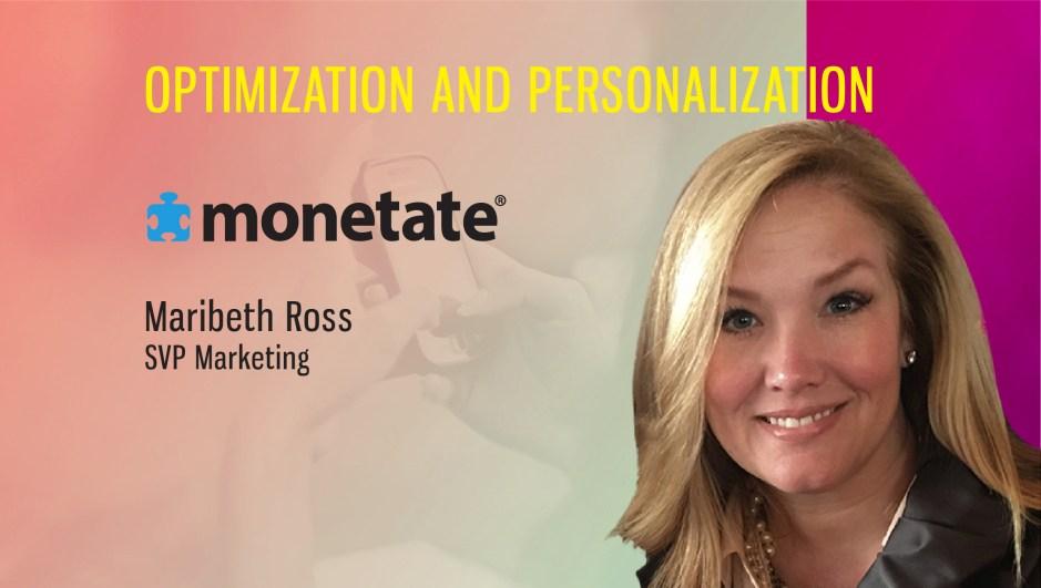 TechBytes with Maribeth Ross, SVP Marketing, Monetate