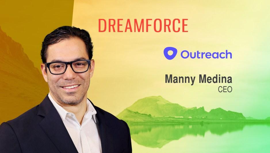 Dreamforce TechBytes with Manny Medina, CEO, Outreach