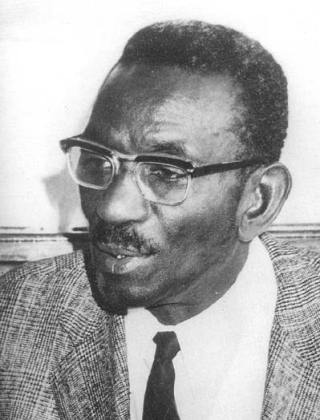 Photo de Cheikh Anta Diop, historien et anthropologue sénégalais