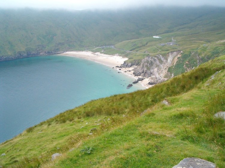 Picture of Keem Bay beach on Achill Island.