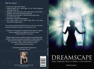 The cover to the forthcoming second edition of Dreamscape, Real Dreams Really Make a Difference