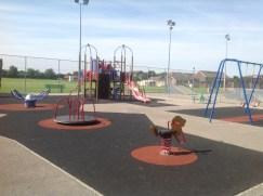 New children's playground