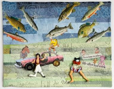 Martha Ressler Life After Bad Week, 15.5 x 19.5