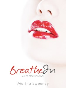 Breathe In by Martha Sweeney book cover iPad mini wallpaper