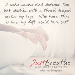 Just Breathe by Martha Sweeney book quote