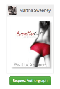 Breathe Out ebook autograph