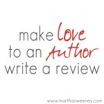 make love to an author and write a review