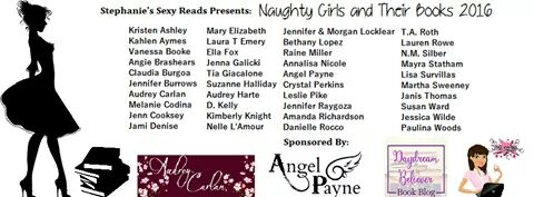 Martha Sweeney at Naughty Girls and Their Books book signing