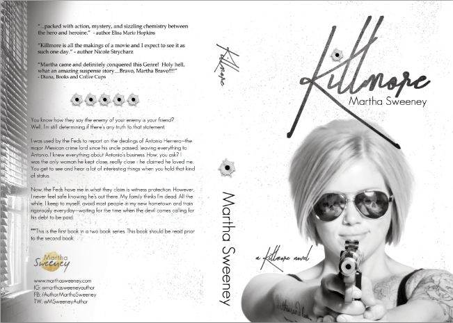 Killmore by Martha Sweeney book cover