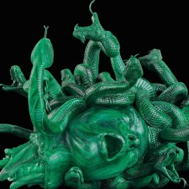 """Damien Hirst, """"The Severed Head of Medusa"""", 2017, Photo by Prudence Cuming Associates"""