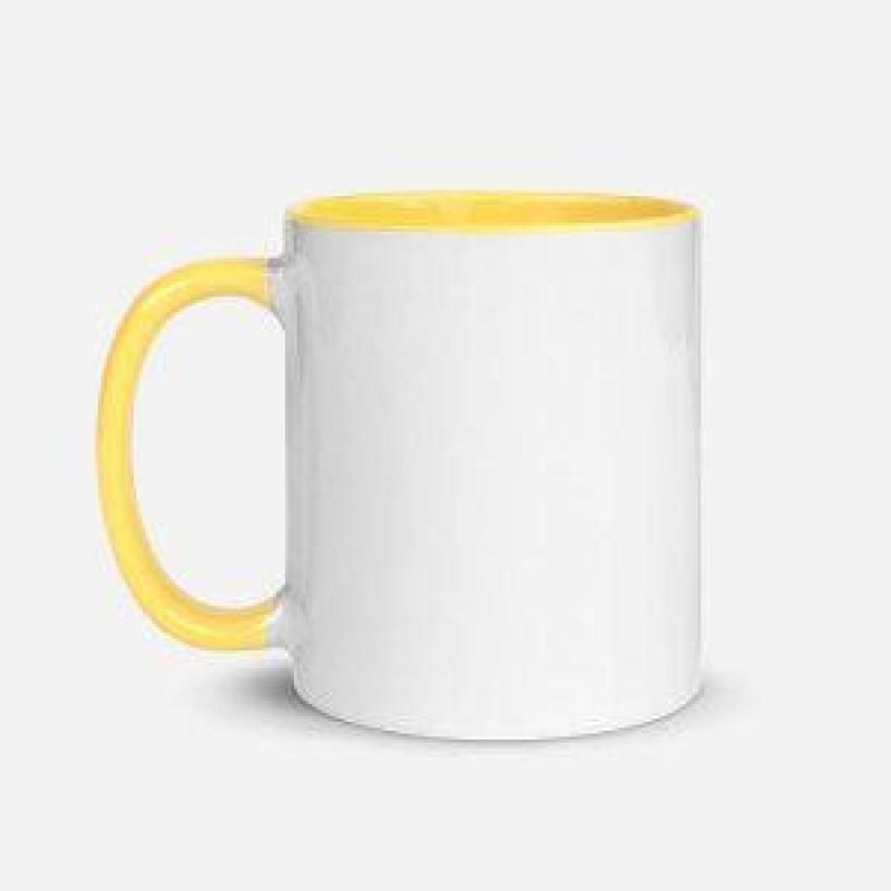 Ceramic Color Accent Mug